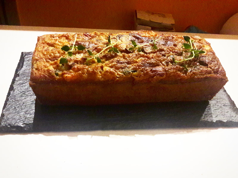 Plume cake